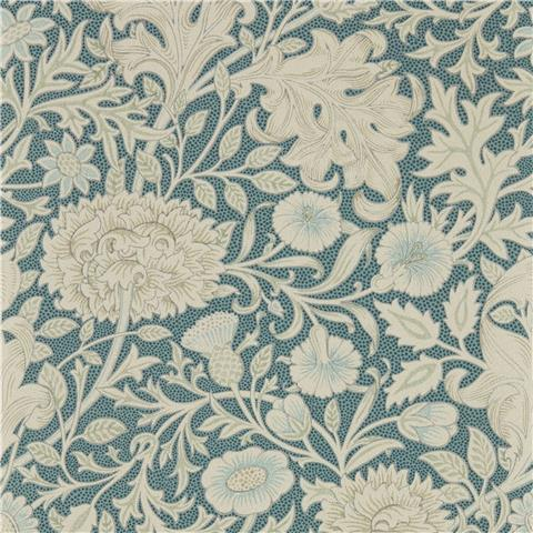 Morris & Co Melsetter Wallpaper Double Bough 216682 slate blue