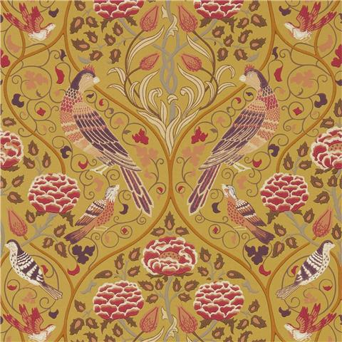 Morris & Co Melsetter Wallpaper Seasons by may 216685 Saffron