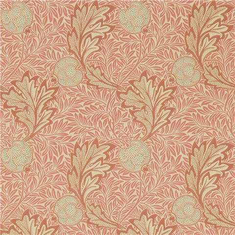 Morris & Co Melsetter Wallpaper Apple 216688 Rust/Gold