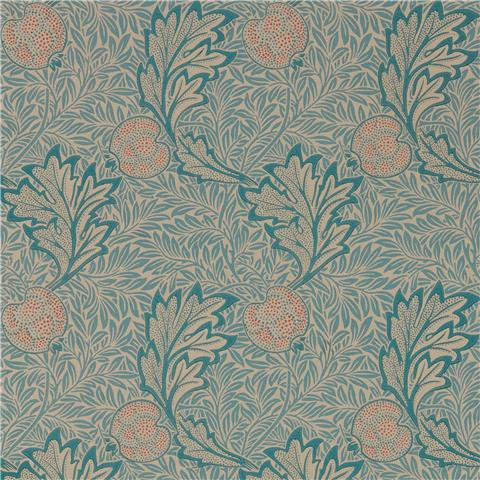 Morris & Co Melsetter Wallpaper Apple 216690 indigo