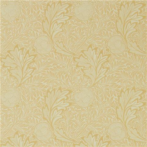 Morris & Co Melsetter Wallpaper Apple 216691 honey gold