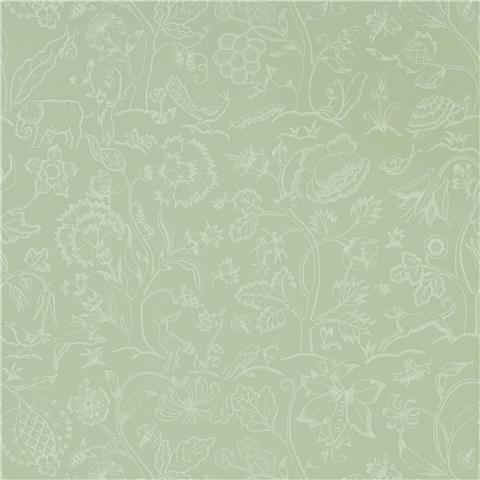 Morris & Co Melsetter Wallpaper middlemore 216694 sage grey