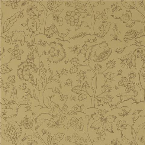 Morris & Co Melsetter Wallpaper middlemore 216696 antique gold