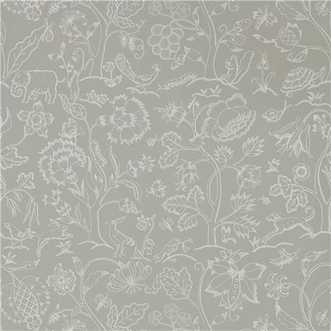 Morris & Co Melsetter Wallpaper middlemore 216697 linen chalk