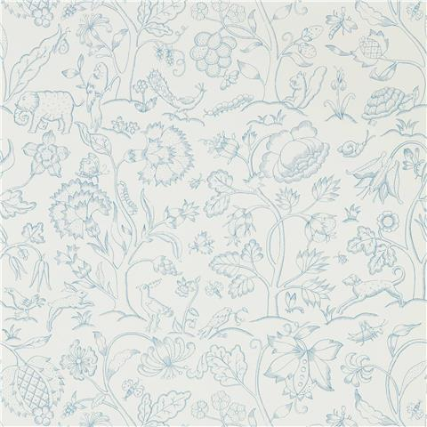 Morris & Co Melsetter Wallpaper middlemore 216698 cornflower chalk