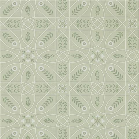 Morris & Co Melsetter Wallpaper brophy trellis 216702 sage linen