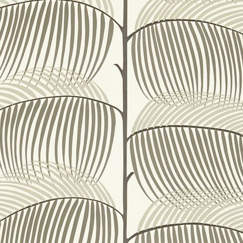 Sanderson Voyage of Discovery Wallpaper Manila Tropical Leaf 213368
