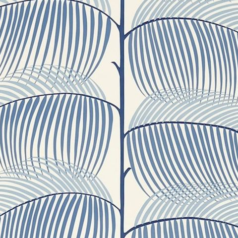 Sanderson Voyage of Discovery Wallpaper Manila Tropical Leaf 213369