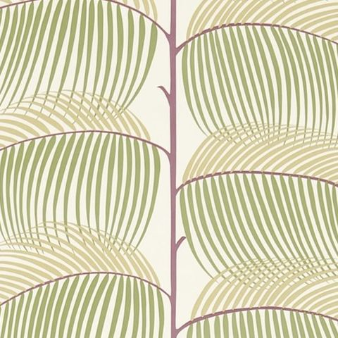 Sanderson Voyage of Discovery Wallpaper Manila Tropical Leaf 213370