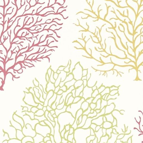 Sanderson Voyage of Discovery Wallpaper Coral Reef 213391