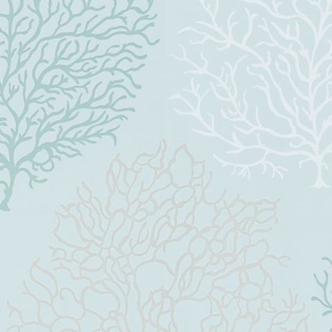 Sanderson Voyage of Discovery Wallpaper Coral Reef 213394