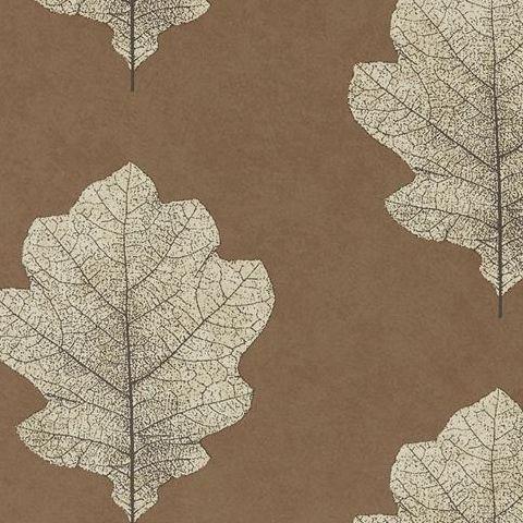 Sanderson Woodland Walk Wallpaper Oak Filigree 215701