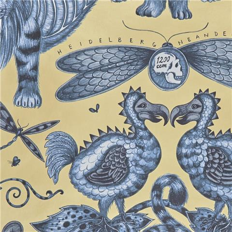 Clarke & Clarke Animalia Wallpaper by Emma J Shipley Extinct W0100-01