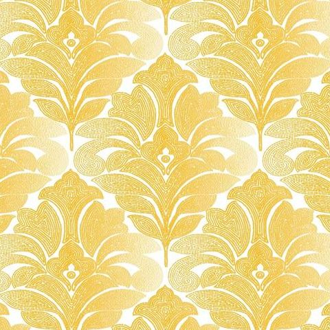 A Street Prints Solstice Wallpaper-Balangan Damask 2744-24144 Gold