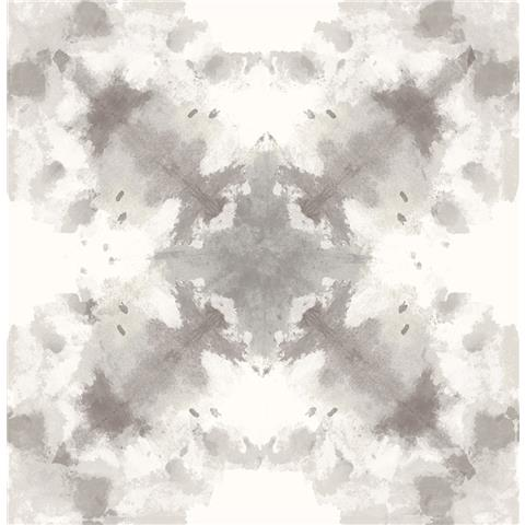 A STREET PRINTS moonlight WALLPAPER Mysterious ikat style 2763-24233 beige