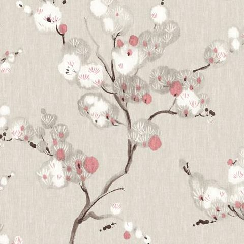 A Street Prints Mistral Wallpaper-Bliss Blossom FD24307 Brown/Pink