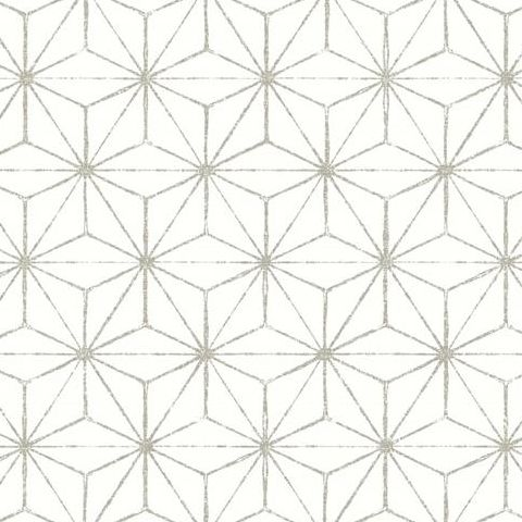 A Street Prints Mistral Wallpaper-Orion Geometric FD24310 Grey