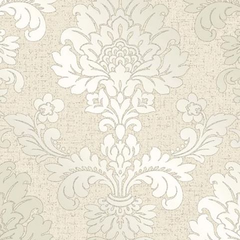 Fine Decor Blown Vinyl Wallpaper Damask FD41970 Cream/Gold