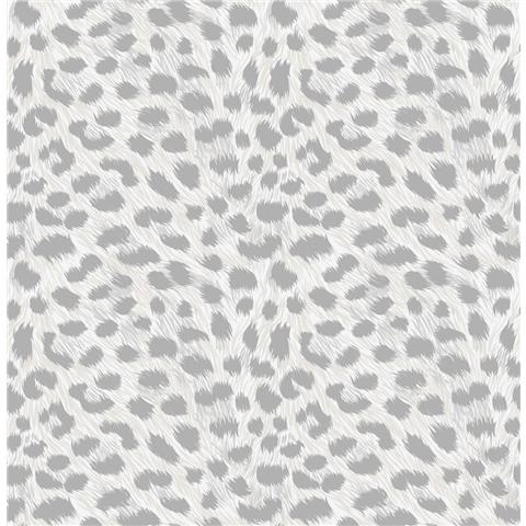 Fine Decor Animal Skins Wallpaper Silver FD42466