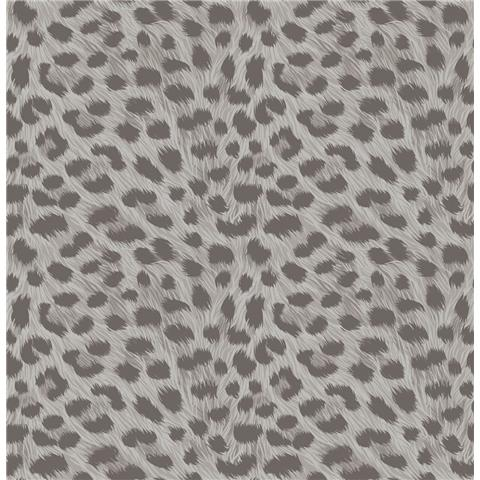 Fine Decor Animal Skins Wallpaper Grey FD42467