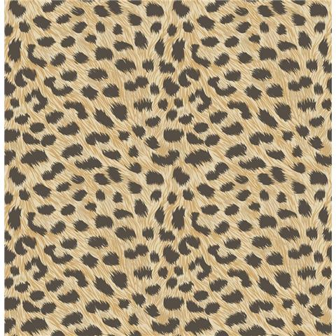 Fine Decor Animal Skins Wallpaper Gold FD42468