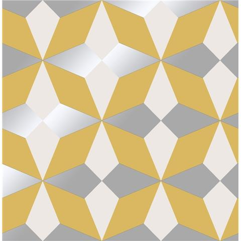 Fine Decor Nova Geometric Wallpaper FD42546