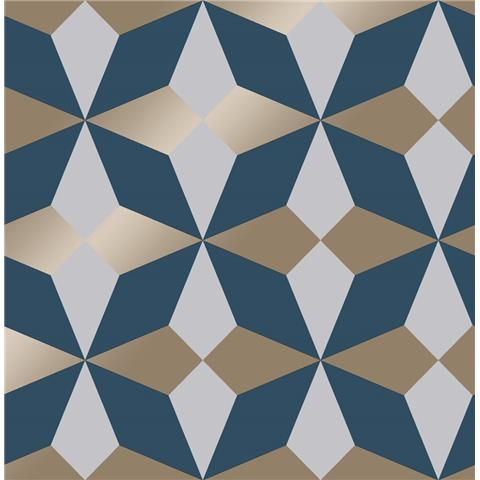 Fine Decor Nova Geometric Wallpaper FD42548