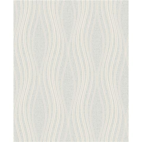 Fine Decor Quartz wave geometric wallpaper FD42567 Silver