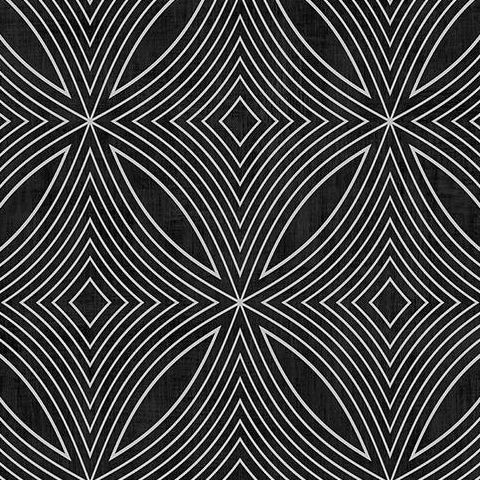 Galerie Special FX Wallpaper-Spirograph  G67732 Black/Silver