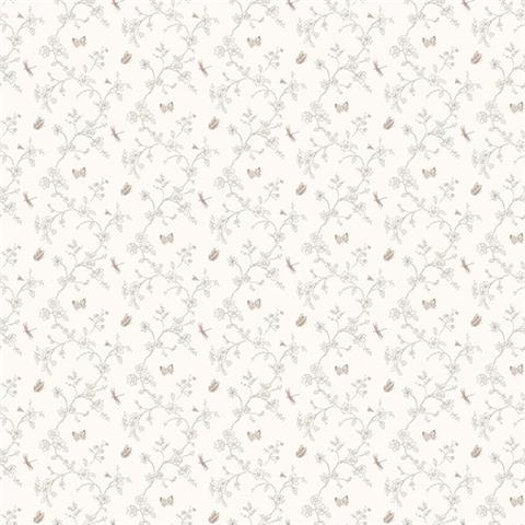 GALERIE MINIATURES 2 WALLPAPER-MINIATURE butterfly G67853 taupe
