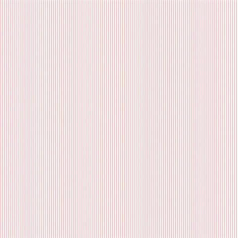 Galerie Miniatures 2 Wallpaper-pinstripe G67857 pink/white