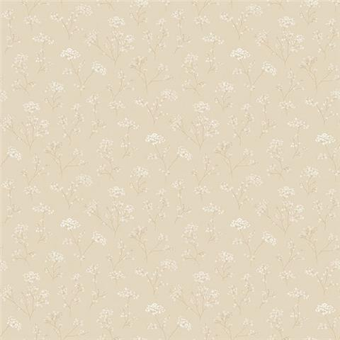 GALERIE MINIATURES 2 WALLPAPER- cow parsley g67869 taupe