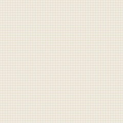 GALERIE MINIATURES 2 WALLPAPER-miniature plaid g67873 taupe