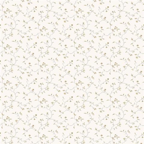GALERIE MINIATURES 2 WALLPAPER-MINIATURE trail G67924 taupe