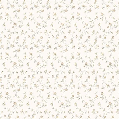 GALERIE MINIATURES 2 WALLPAPER-dolly mixtures g67933 taupe