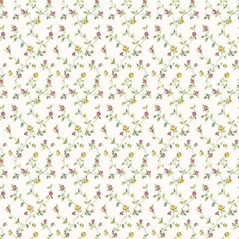 GALERIE MINIATURES 2 WALLPAPER-dolly mixtures g67936 pink