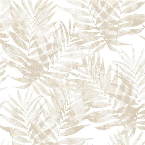Organic Textures wallpaper palm G67947 taupe