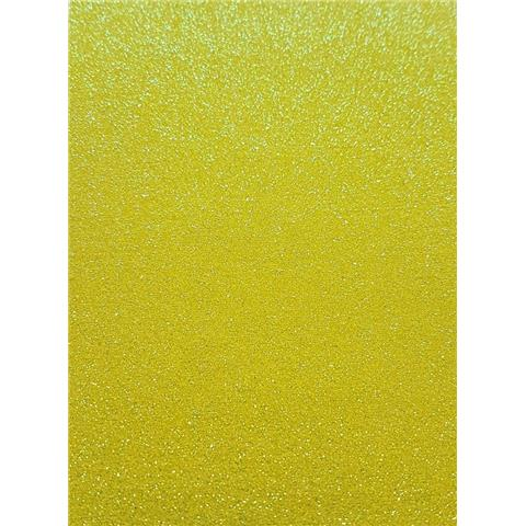 GLITTER BUG DECOR disco SAMPLE GLd435 yellow iris