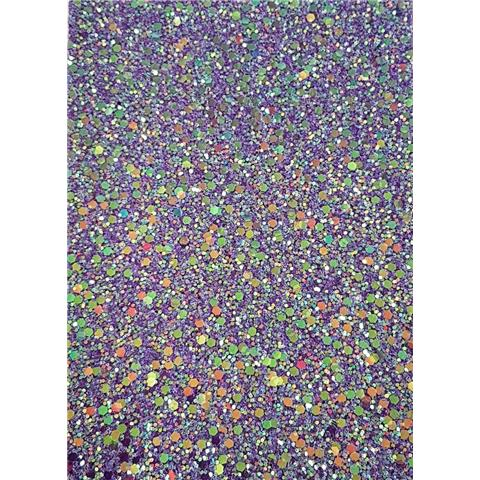 GLITTER BUG DECOR JAZZ sample GLj71 purple iris