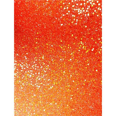 GLITTER BUG DECOR JAZZ neon WALLPAPER GLn22 orange iris