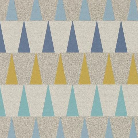 Harlequin Tresillo Vinyl Wallpaper Azul 111443