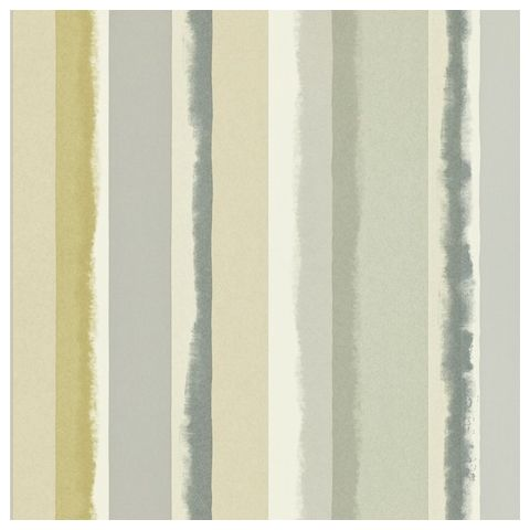 Harlequin Landscapes-Prairie Stripe 110488 Moss, Ink and Seaglass