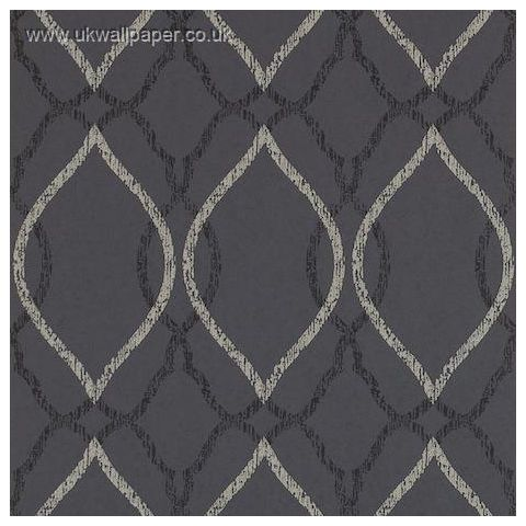 Harlequin Leonida Glass Beaded Wallpaper-Comice 110610 Onyx