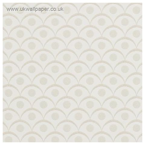 Harlequin Leonida Glass Beaded Wallpaper-Demi 110612 Ivory