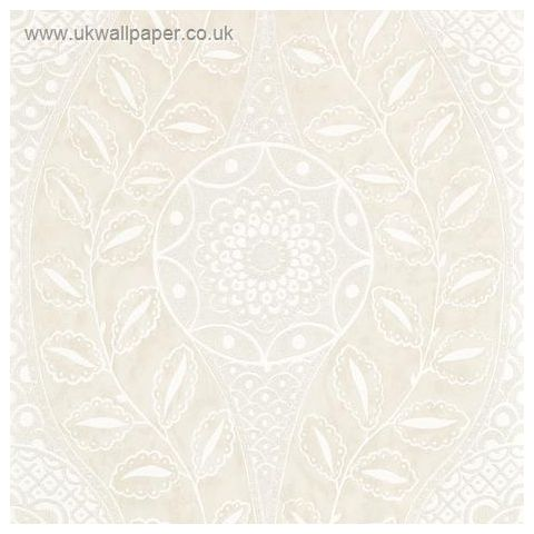 Harlequin Leonida Glass Beaded Wallpaper-Florentine 110630 Shell