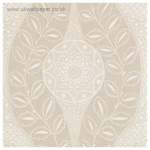 Harlequin Leonida Glass Beaded Wallpaper-Florentine 110632 Mink