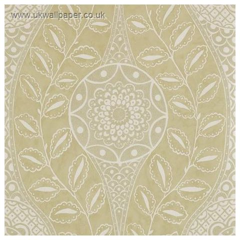 Harlequin Leonida Glass Beaded Wallpaper-Florentine 110633 Antique Gold