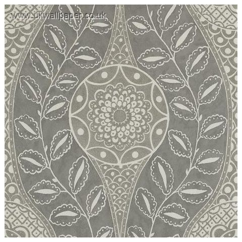 Harlequin Leonida Glass Beaded Wallpaper-Florentine 110634 Platinum
