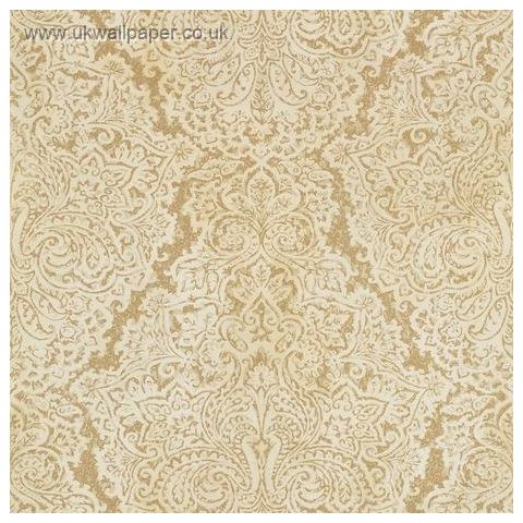Harlequin Leonida Wallpaper-Aurelia 110641 Antique Gold