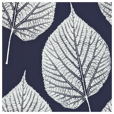 Harlequin Momentum 2 Wallpaper Leaf 110371 Indigo/Chalk
